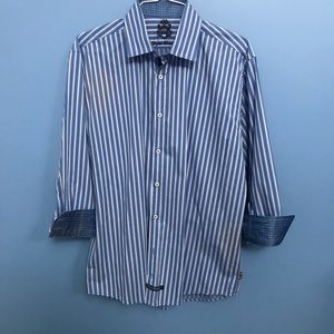 English Laundry Striped Button Down Shirt